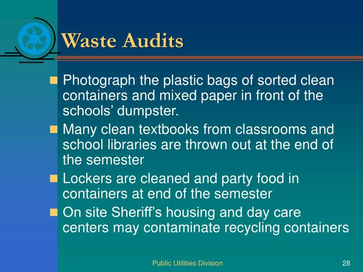 Waste Audits