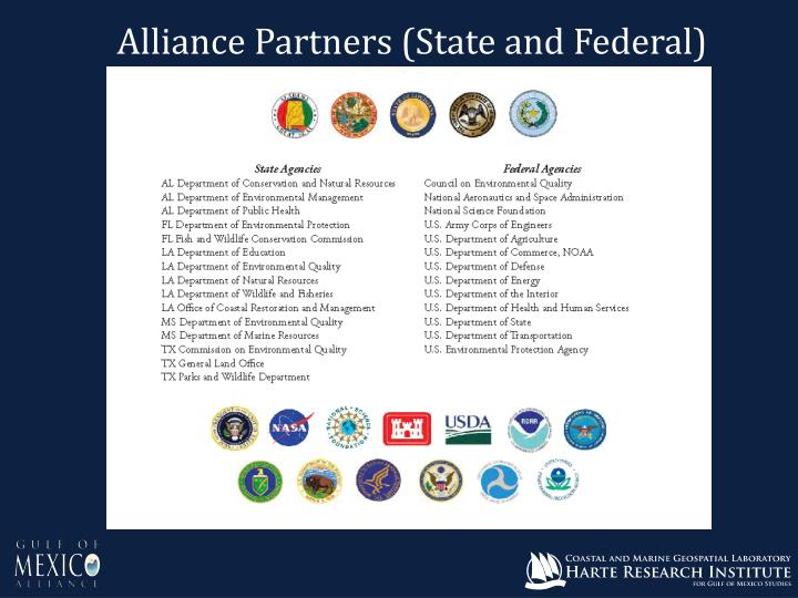Alliance Partners (State and Federal)