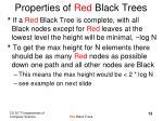 properties of red black trees