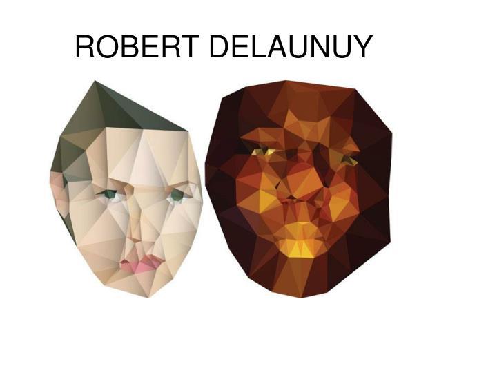 ROBERT DELAUNUY