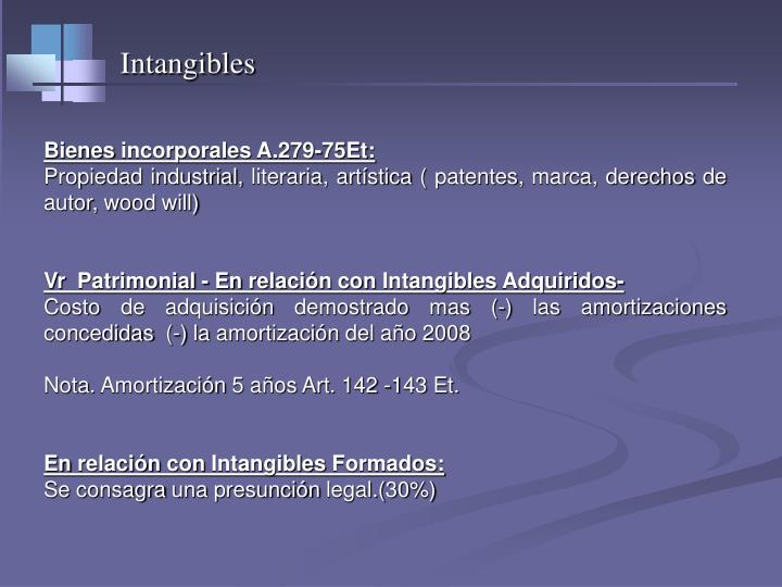 Intangibles