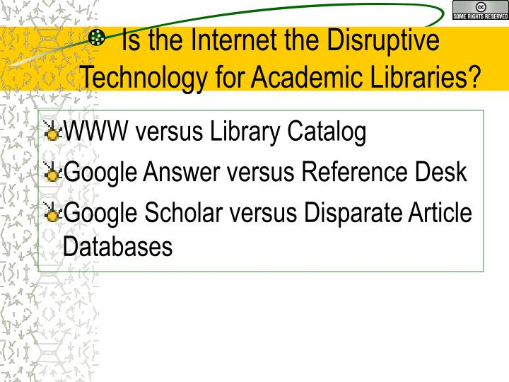 WWW versus Library Catalog