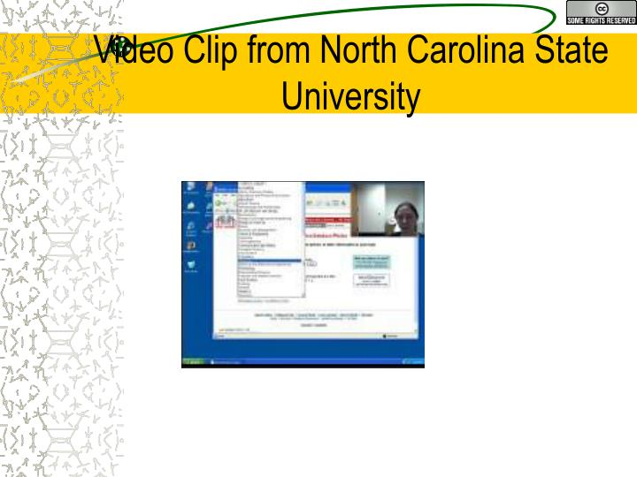 Video Clip from North Carolina State University