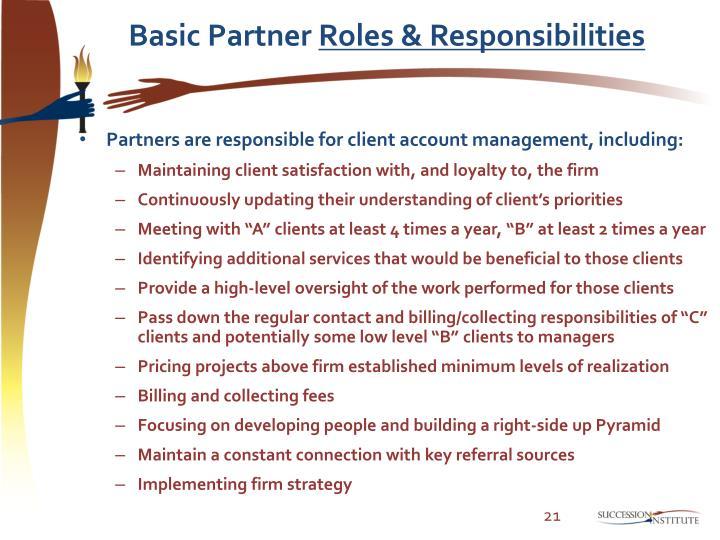 Basic Partner
