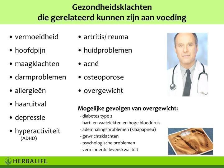Gezondheidsklachten