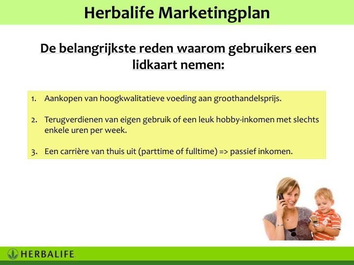 Herbalife Marketingplan