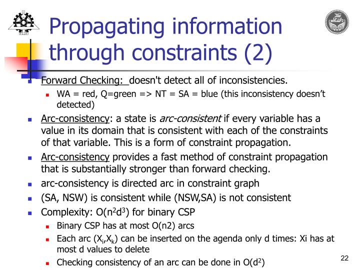 Propagating information through constraints (2)