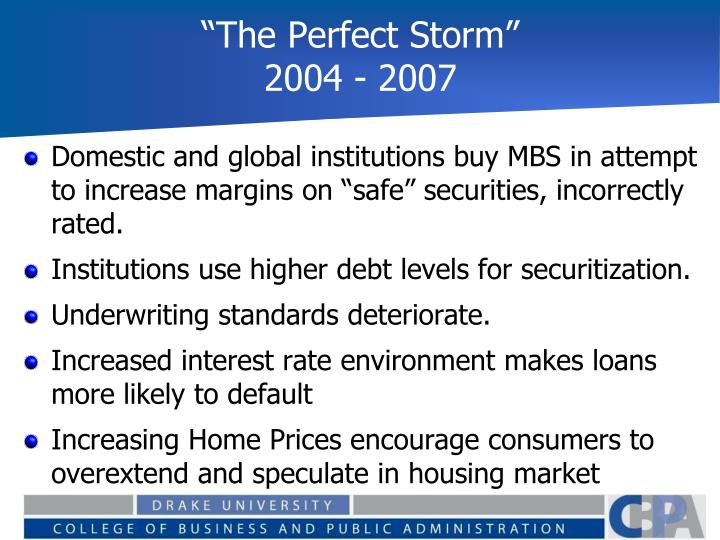 """""""The Perfect Storm"""""""