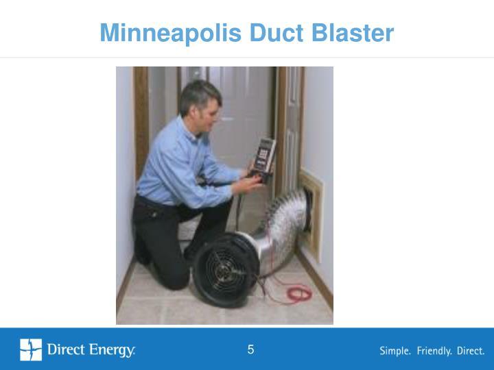 Minneapolis Duct Blaster