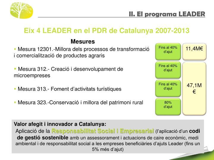 II. El programa LEADER