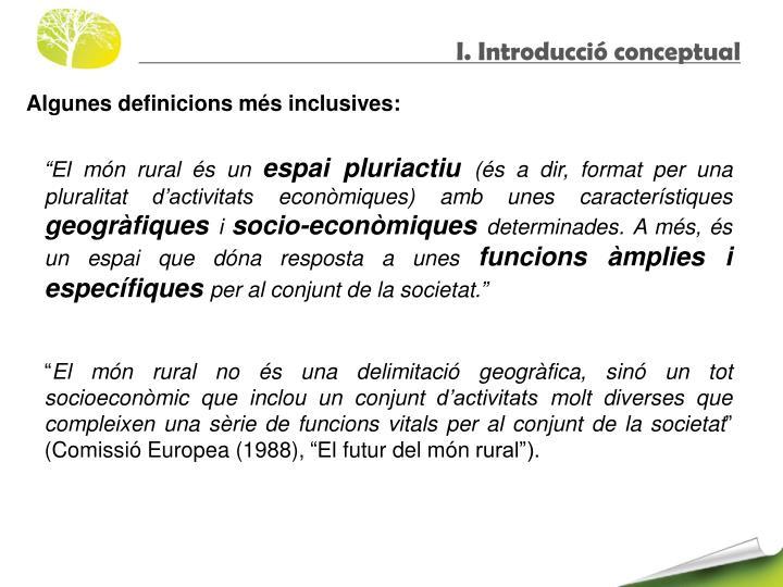 I. Introducció conceptual