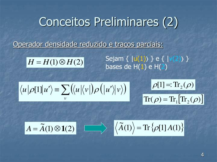 Conceitos Preliminares (2)