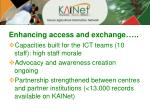 enhancing access and exchange1