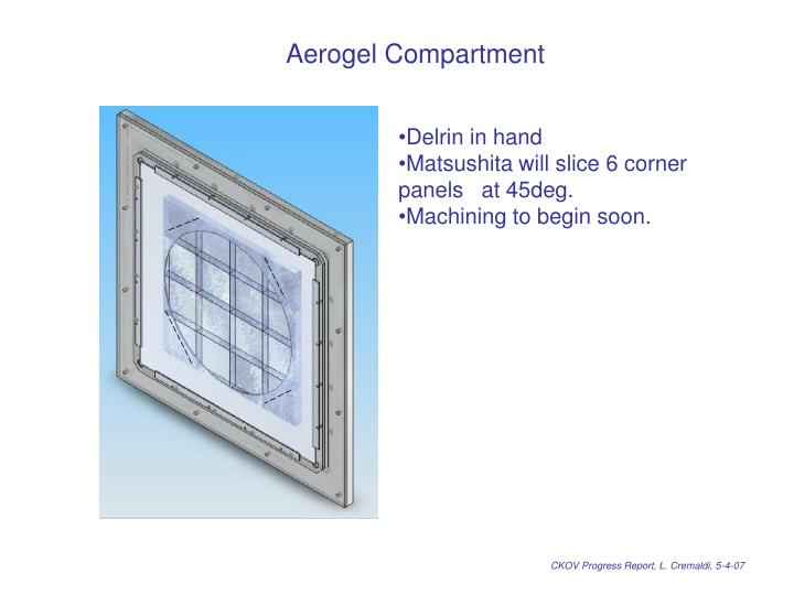 Aerogel Compartment