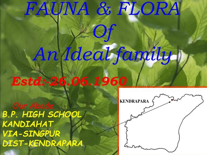 FAUNA & FLORA Of