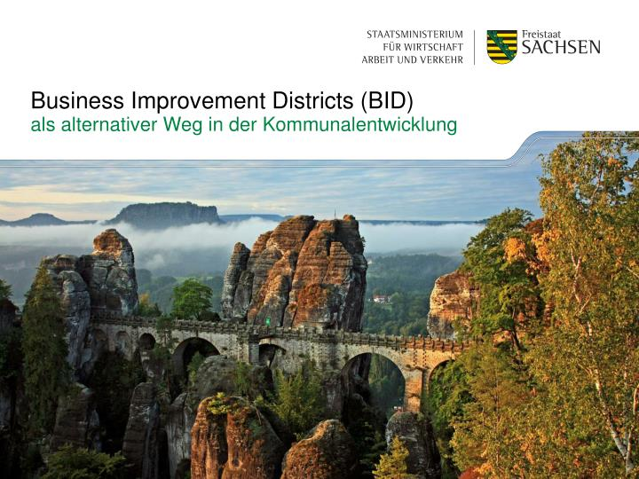 Business improvement districts bid