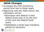 heoa changes