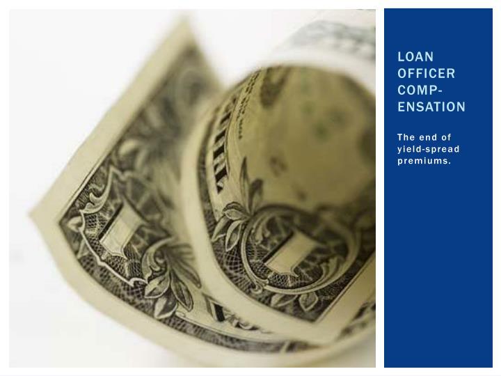 Loan Officer Comp-