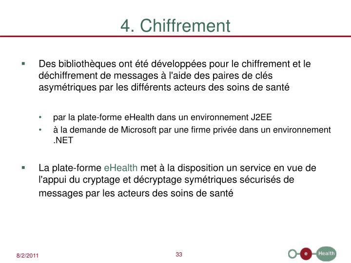 4. Chiffrement