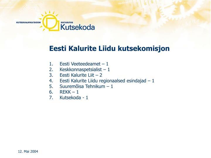 Eesti Kalurite Liidu kutsekomisjon
