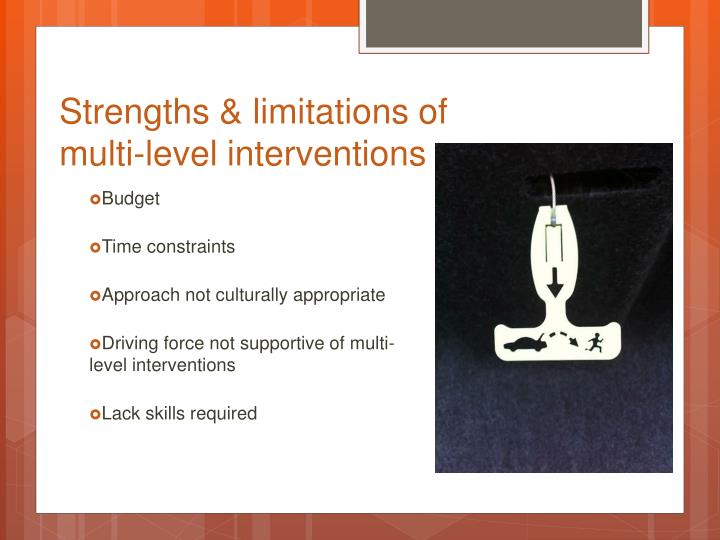 Strengths & limitations of
