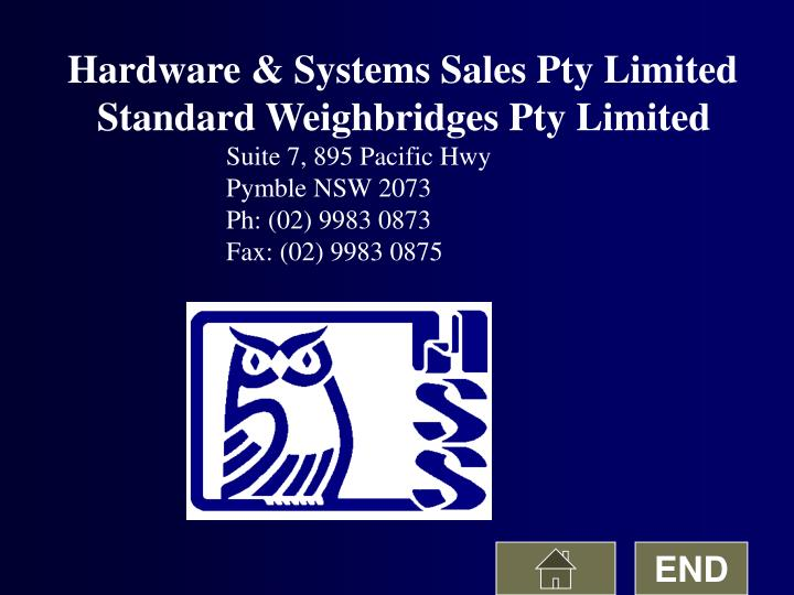 Hardware & Systems Sales Pty Limited