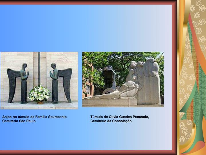 Anjos no tmulo da Famlia Scuracchio                                                                                                                      Cemitrio So Paulo