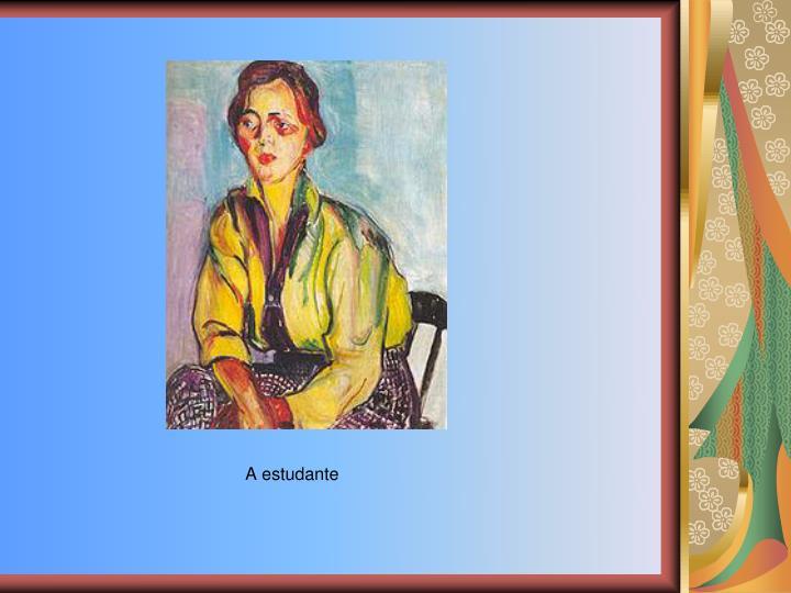 A estudante