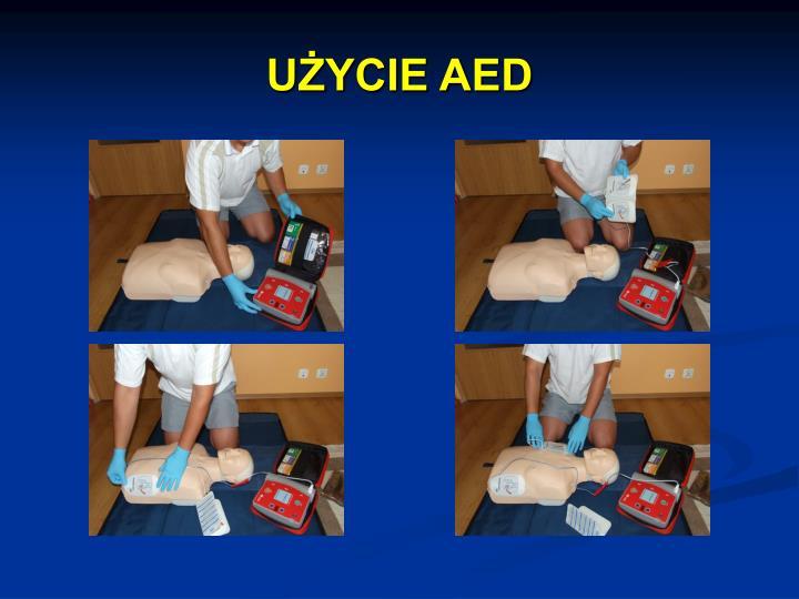 UŻYCIE AED