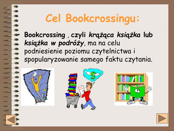 Cel Bookcrossingu: