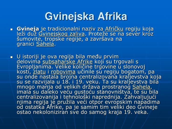 Gvinejska Afrika