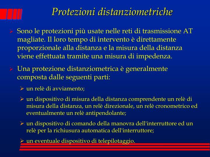 Protezioni distanziometriche