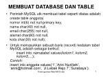 membuat database dan table3