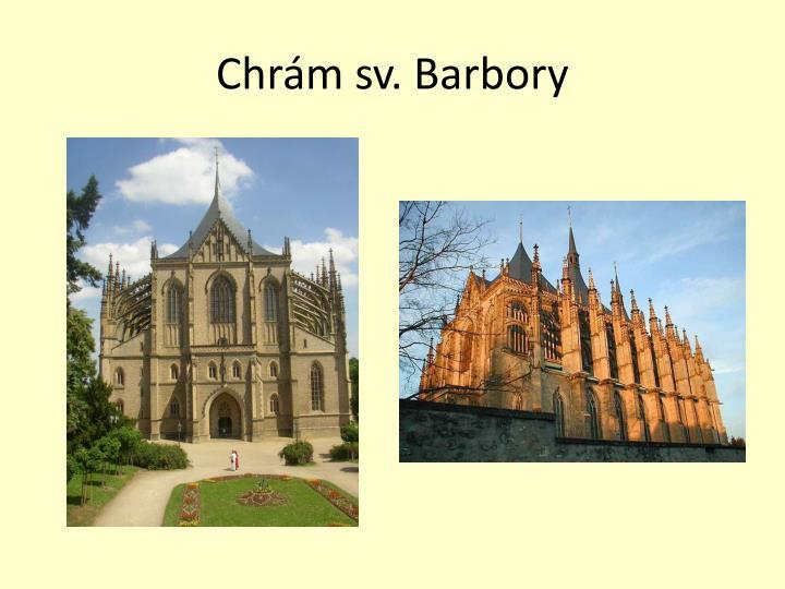 Chrám sv. Barbory