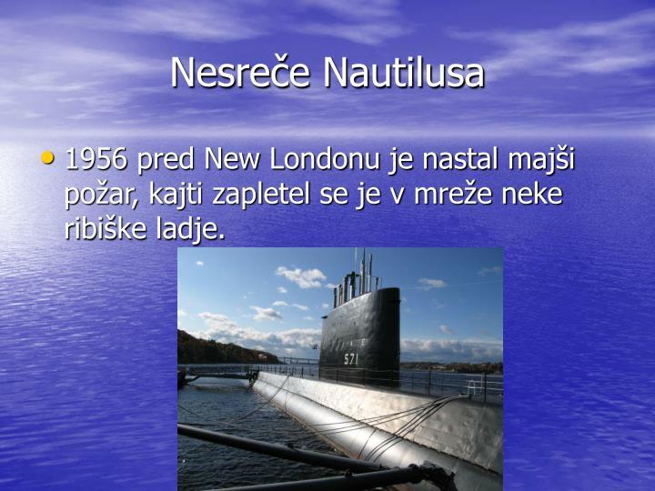 Nesreče Nautilusa