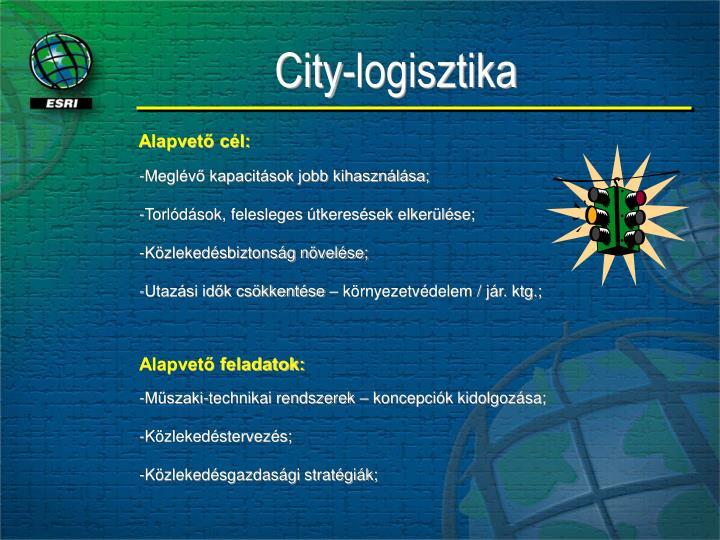 City-logisztika