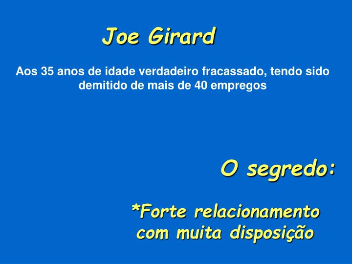 Joe Girard