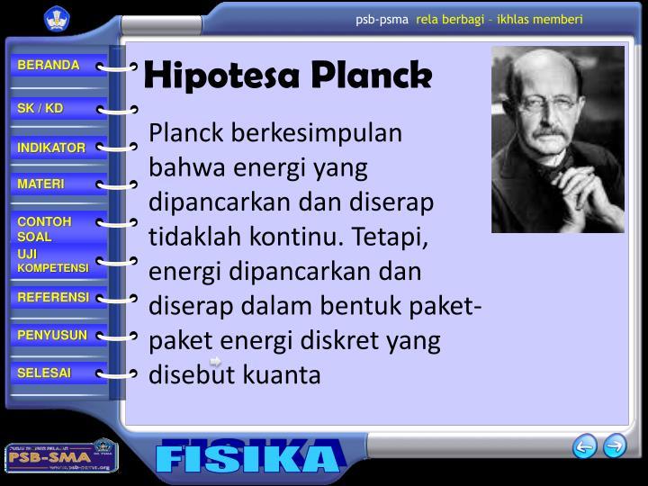Hipotesa Planck