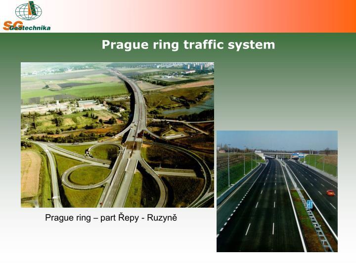 Prague ring traffic system