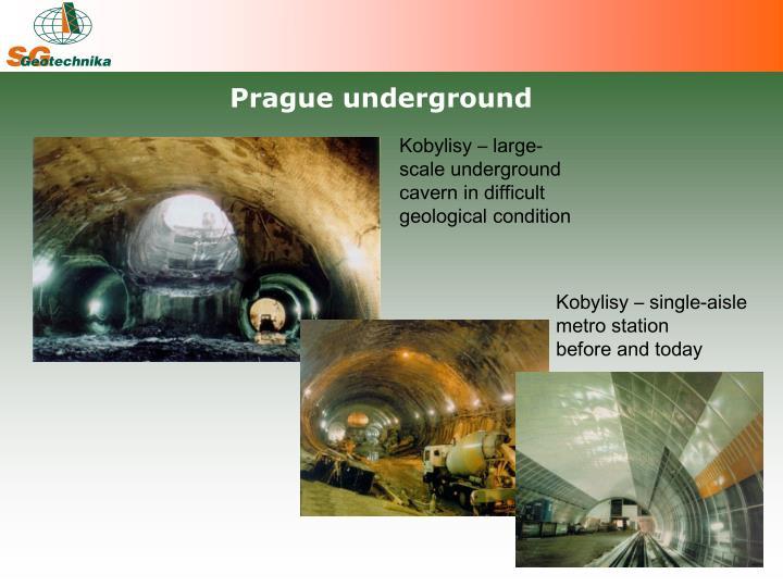 Prague underground