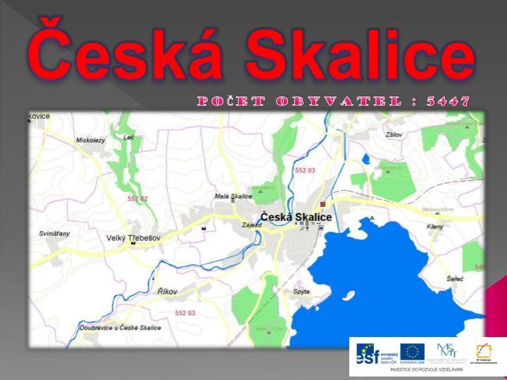 Česká Skalice