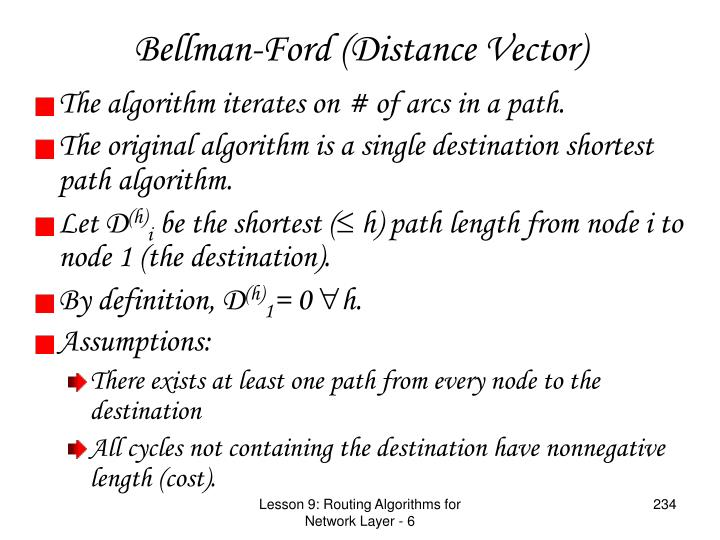 Bellman-Ford (Distance Vector)