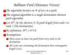 bellman ford distance vector