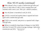 how wi fi works continued