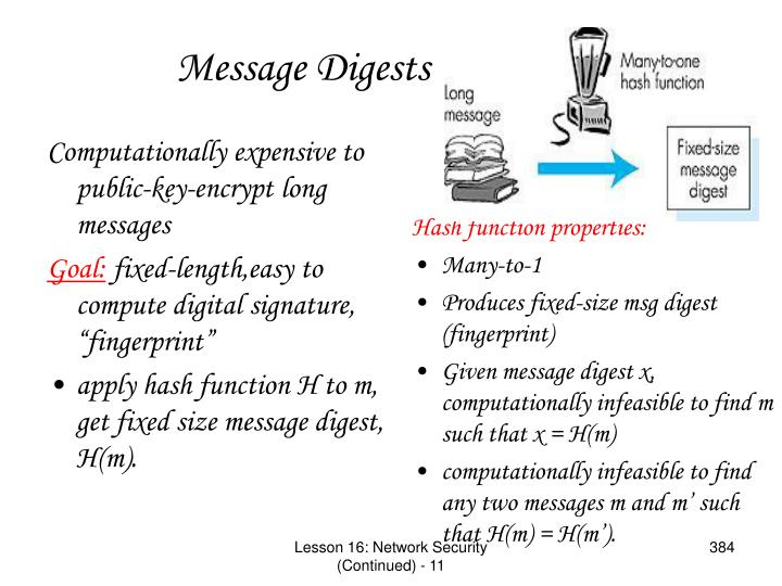 Computationally expensive to public-key-encrypt long messages