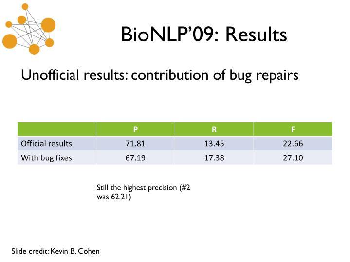 BioNLP