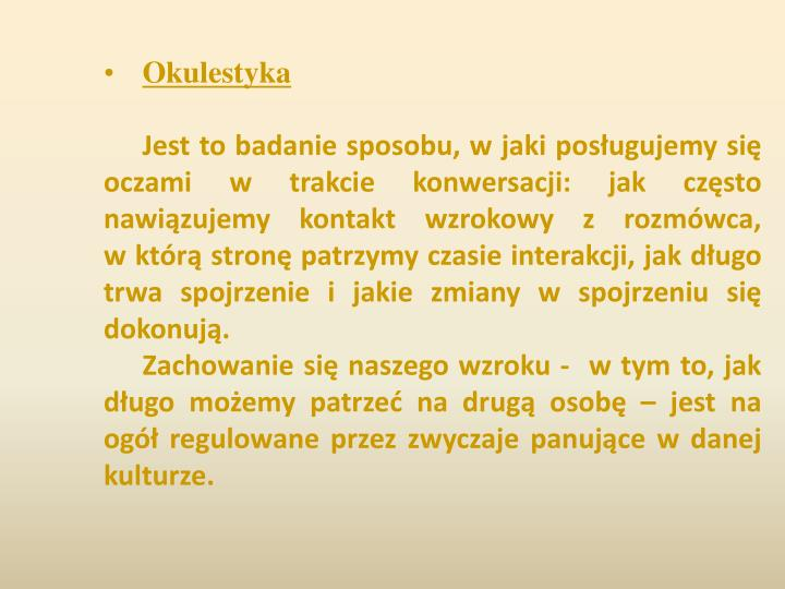 Okulestyka