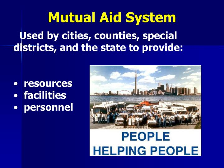 Mutual Aid System