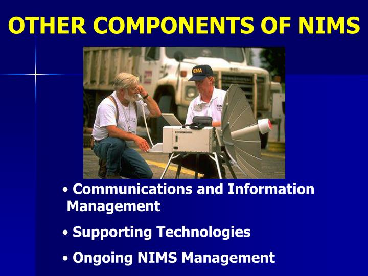 OTHER COMPONENTS OF NIMS