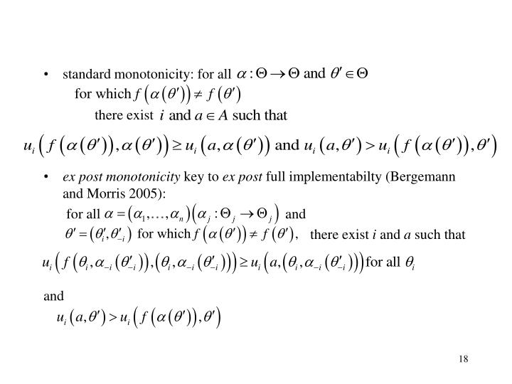 standard monotonicity: for all